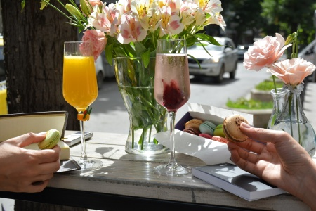 mimosas with nadeera mamadeiva
